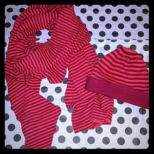 Potolano scarf and beanie set